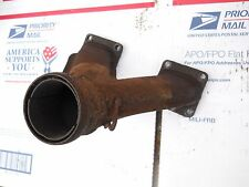 Skidoo-Rotax-Bombardier- TYPE 444 motor parts: EXHAUST Y-PIPE