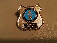 Ontario Provincial Police Pin Novelty Junior Constable ...Ontario OPP School
