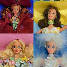1990s Enchanted Seasons Barbie Complete Collection Of 4