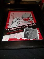 The Vapors Turning Japanese Rare Original Promo Poster Ad Framed!