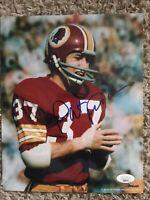 Pat Fischer Autograph 8x10 Signed Photo w/ JSA COA Washington Redskins, Nebraska
