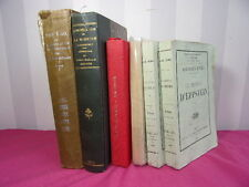 LOT LIVRES HISTOIRE/ Missions Lazariste, A.Dumas, Chateau d'Eppstein, Rome..