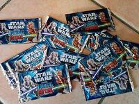 Paquet de carte star wars force attax lot x10 booster