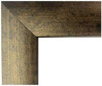"US ART Frames 1"" Dark Bronze Nugget MDF Wall Decor Picture Frame S-17"""