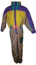 Nevica Zig Zag Ski Suit True Vintage Retro Adults 34L Snowboarding Rare 1980s