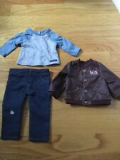 American Girl Logan's T-shirt Jacket & Skinny Jeans From Performance Outfit