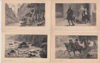 VICTOR HUGO WRITER Han D'Island 28 Vintage Postcards pre-1940