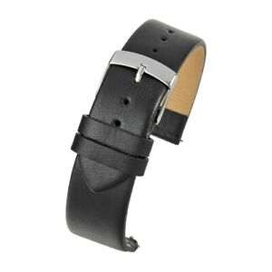 VintageTime Watch Straps - Smooth Leather Quick Release Replacement Watch Bands