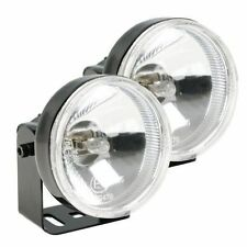 Hella H71020051 Optilux 1300 Driving Light Lamp Kit Clear Round Lens Set of 2