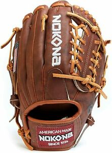 """2021 Nokona Classic Walnut Glove 11.25"""" W-200M W-200 Infield Baseball RHT"""