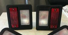 Bobcat Skid Steer Tail Light Set Pair Rear Lights Lamps Door 6670284