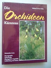 Orchideen Kärntens Heimische Arten Ikonographie Verbreitung ökologische Ansprüch
