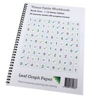 Times Table Workbook KS2 1-12 Tables Mix (Ages 6 to 9) Book 4