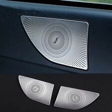 For Mercedes Benz E class Coupe C207 Rear Audio Speaker Frame Decal Cover Trim
