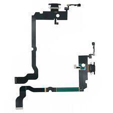 Apple iPhone XS Max schwarz Docking Lade Buchse Eingang Port Mikrofon Flex Kabel