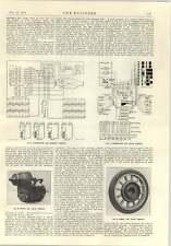 1914 VEICOLI ELETTRICI LLOYD motore e ruote