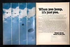 Life Magazine Ad U.S. ARMY 1971 AD