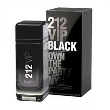 212 VIP Black Cologne by Carolina Herrera, 3.4 oz EDT Spray for Men NEW