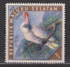 Indonesia Republik Maluku Selatan 04 MNH paradise bird paradijsvogel 1952 RMS