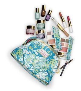 Estee Lauder Moisturizer Lipstick,Eye Shadow Palette,Mascara and More Gift Set