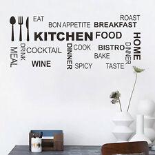 Küchenregeln Wandaufkleber Wohnzimmer Wandspruch Zitat-WandTattoo Decal Dekor