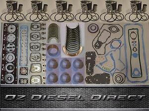 6D155 New Overhaul Rebuild kit for Komatsu 6D155