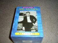 Mr. Lucky VHS Set - Televison Classic   SEALED, 5 Hrs., B&W, 5 tapes John Vivyan