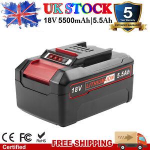18V 5.5Ah Li-ion Battery For Einhell X-ChangeH Family Cordless Power Tools LED