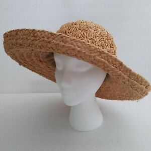 The SCALA Collection Wide Brim Natural Straw Hat