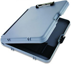 Saunders WorkMate 00470 Plastic Storage Clipboard - 1/2 In, Gray, Charcoal