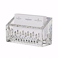 Waterford Lismore Essence Business Card Holder Crystal Desk Collection