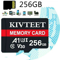2020 New Ultra Memory Card 256GB Class10 Flash TF 98MB/s for Phone & Camera