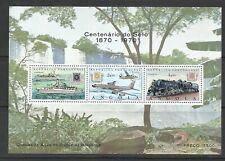 Angola 1970 - Postal Stamp Centenary S/S MNH