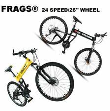 "New Men/Women 24Speed26"" Wheel MTB Frames Full Suspension Mountain Bike/Bicycle"