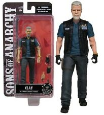 """Sons of Anarchy Clay Morrow 6"""" Action Figure Mezco Toyz First 9"""