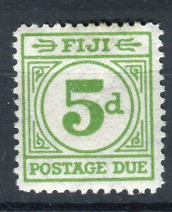 Fiji KGVI 1940 Postage Due 5d emerald green SG.D15 MH