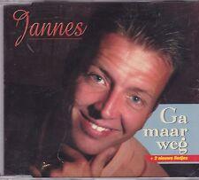 Jannes- Ga Maar Weg cd maxi single