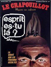 Le Crapouillot n°65- 1982 - Esprit es-tu là ? Vérité sur les pouvoirs occultes