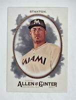 2017 Topps Allen and Ginter #19 Giancarlo Stanton - NM-MT