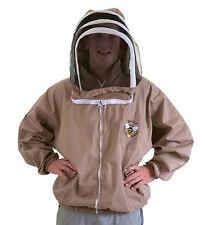 Buzz apicoltori Bee Giacca, Cappuccino Con Cappuccio SCHERMA. Dimensione: EXTRA Large