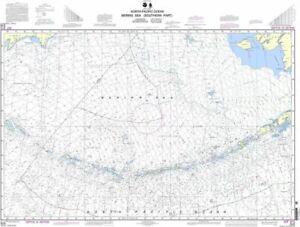 NOAA Nautical Chart 513: Bering Sea Southern Part