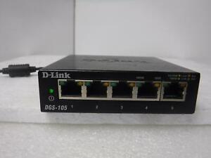D-Link (DGS-105) 5-Port Gigabit Ethernet Switch_