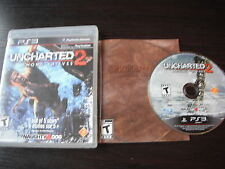 Playstation 3 PS3 complete in case Uncharted 2  Among Thieves tested
