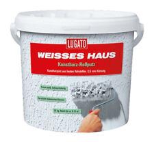 Lugato Weisses Haus Kunstharz-Rollputz - 20 Kg