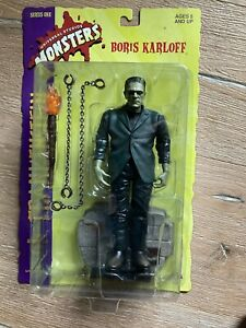 """Frankenstein Sideshow Toy Universal Monsters 8"""" figure Series 1 great shape"""