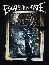 Escape the Fate Broken Mirror Glass Reflection Emo Screamo Punk Rock T Shirt S