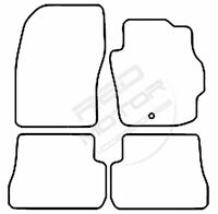 Mazda 3 Mk1 2003-2009 Tailored Carpet Car Floor Mats BLACK