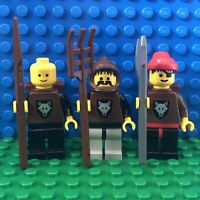 Lego wolfpack wolf people minifigures Quiver 6086 6105 6038 6075 castle vintage