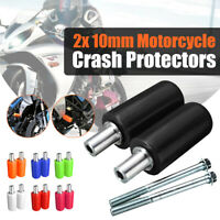 Universal Motorcycle Frame Sliders Anti Crash Protector For  */!