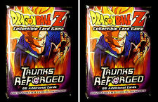 Dragonball Z CCG TCG Trunks Reforged Two Theme Deck Score 2002